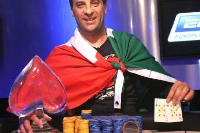 Salvatore Bonavena winnaar EPT Praag 2008 0001