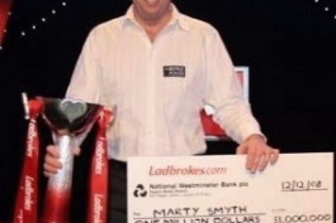 Marty Smyth osvojil Ladbrokes Poker Million VII 0001