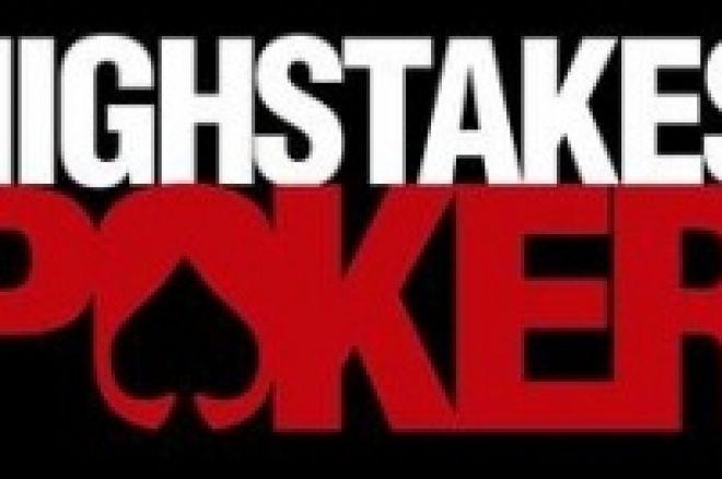 High Stakes Poker se emitirá en Marzo 0001