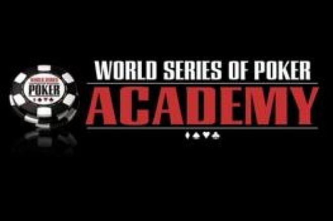 WSOP Academy Anuncia Seminários de Cash Games para 2009 0001