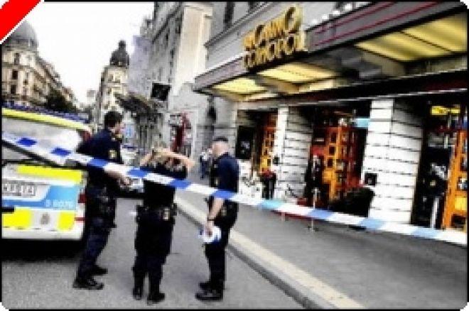 Tre skadade i skottlossning utanför kasinot i Stockholm 0001