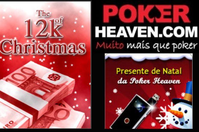€12,000 Freeroll de Natal na Poker Heaven 0001