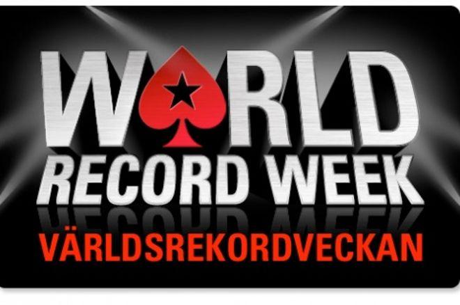 Var med och slå Guinness rekord hos PokerStars under julhelgen 0001
