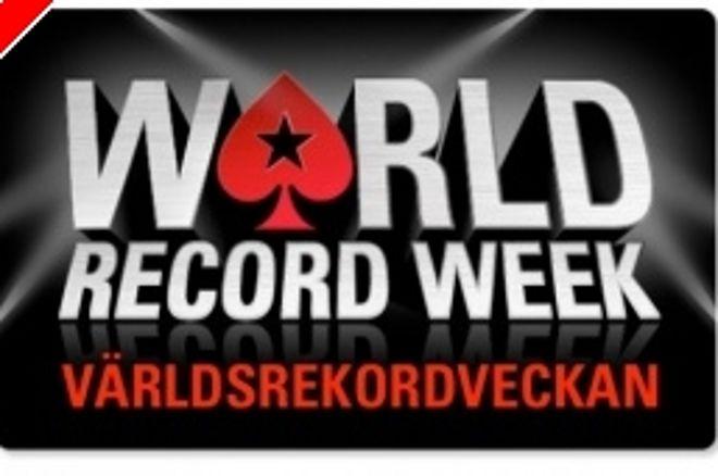 Bli med å sett Guinness rekord hos PokerStars nå i julen 0001