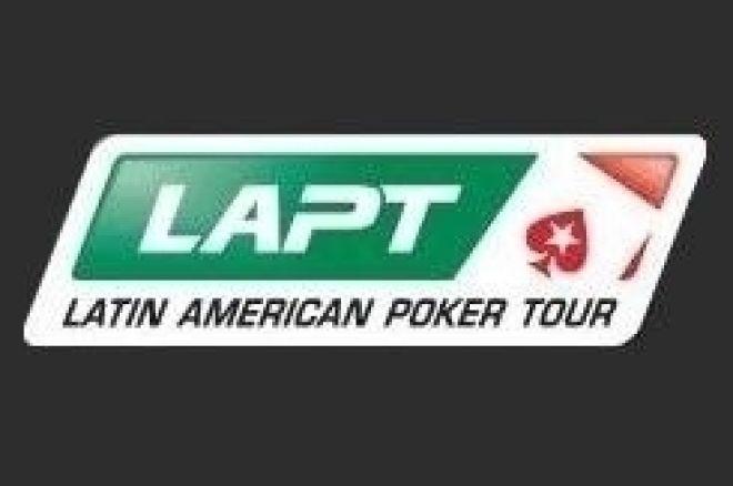 PokerStars가 중지된 LAPT의 파이널 테이블을 개최 예정 0001