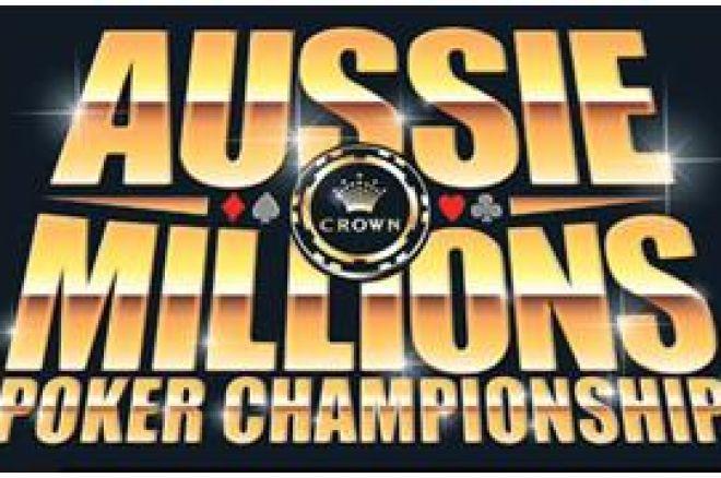 Aussie Millions; knallend het nieuwe jaar in 0001