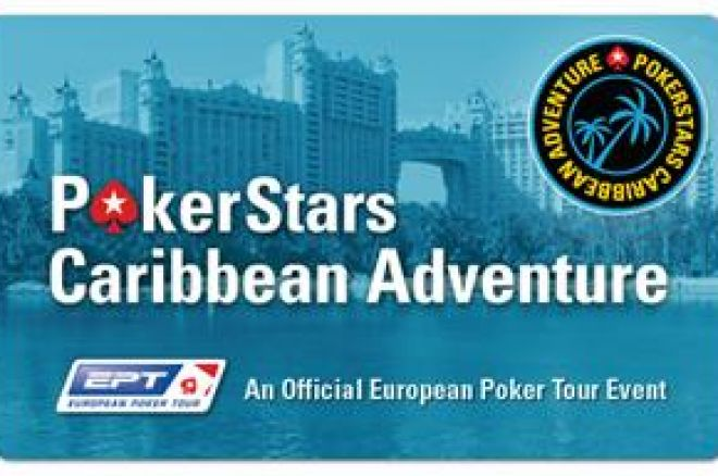PokerStars Caribbean Adventure van start 0001