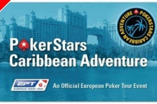 Ni danskere videre fra førstedagen ved Pokerstars EPT Caribbean Adventure 0001