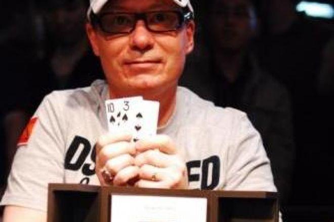 David Steicke wint High Roller event - Aussie Millions Report 0001
