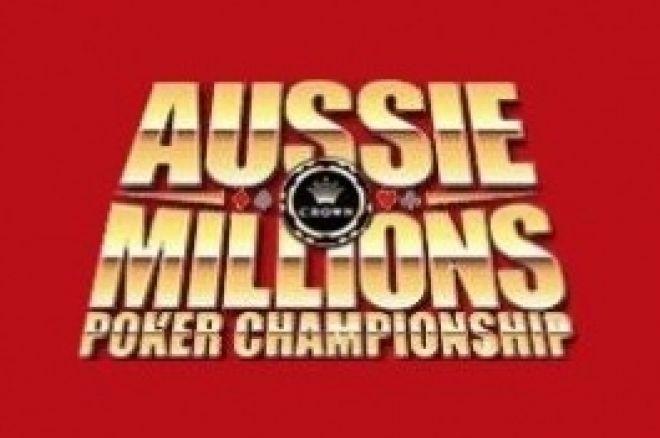 Brett Daphne chipleader dag 1B - Aussie Millions Report 0001