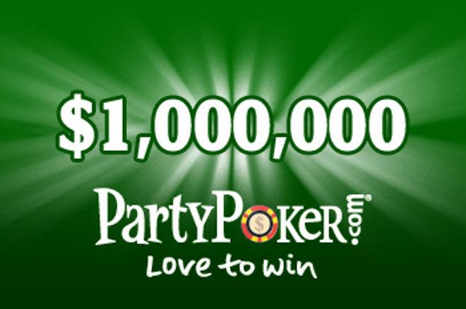 PartyPoker lanceert Monthly Million toernooi 0001