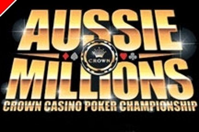 Al final del día 2 del Main Event del Aussie Million Invert y Obrestad encabezan el grupo 0001