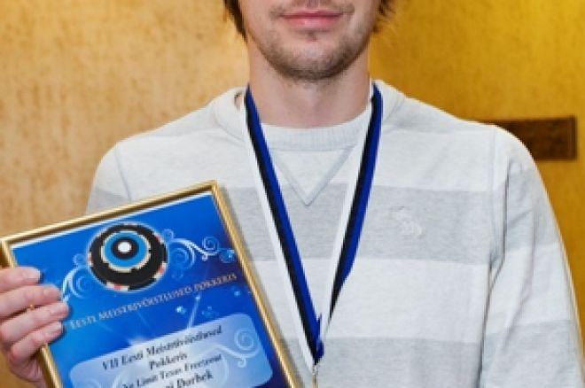 Mauri Dorbek tuli Eesti meistriks pokkeris 0001