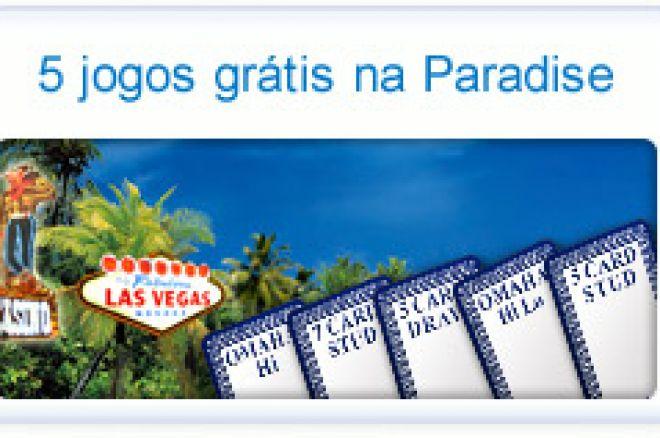 Jogue 5 Variantes de Poker Gratuitamente na Paradise Poker! 0001
