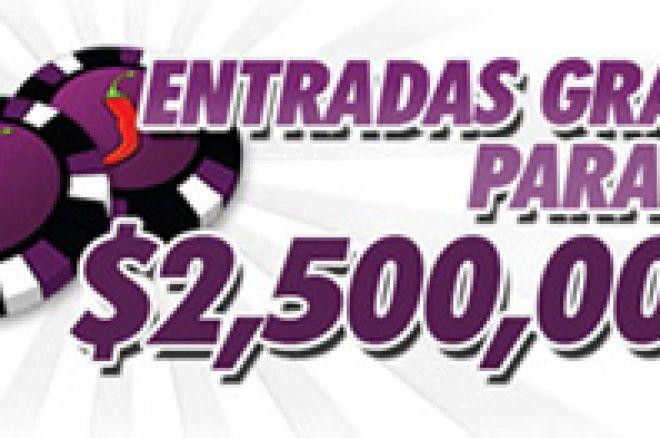 Entradas Grátis para o Torneio $2,500,000 Garantidos na ChiliPoker! 0001