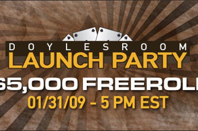 DoylesRoom Festeja Lançamento do Novo Software com Freeroll de $5,000! 0001