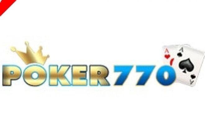Zbrusu nová série $770 Cash Freerollů na Poker770 0001