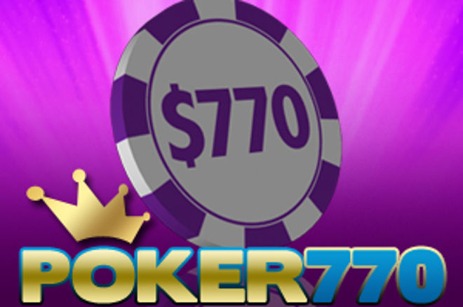 More Weekly $770 Cash Freeroll Tournaments on Poker770 0001