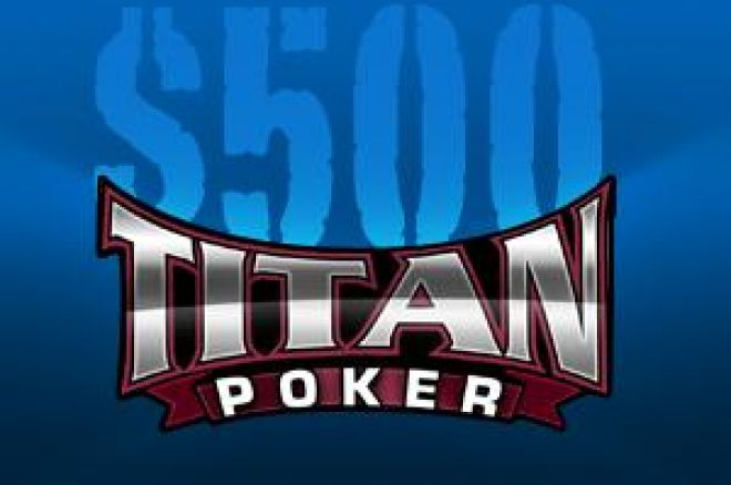 PokerNews introducerer $500 Cash Freeroll Series hos Titan Poker 0001