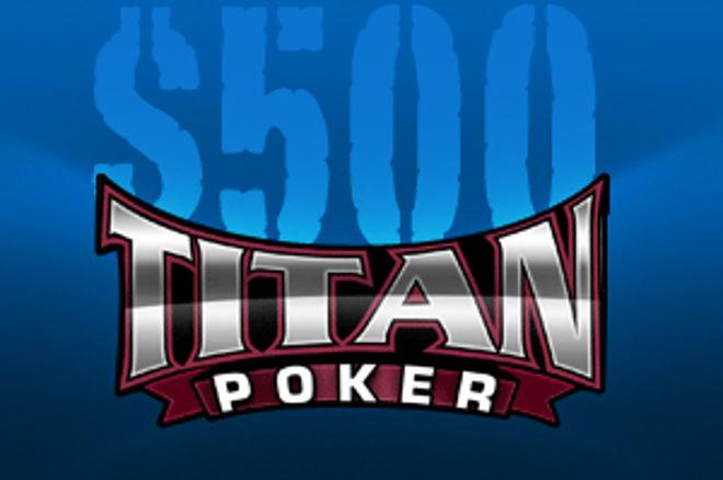 Lisää PokerNews $500 Cash -ilmaisturnauksia Titan Pokerissa 0001
