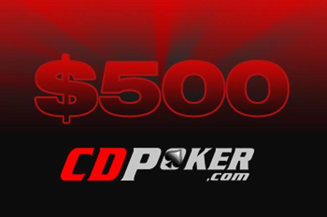 Freerolls de 500$ en CD Poker 0001