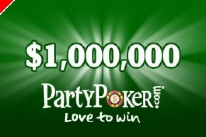 PartyPoker Monthly Million, $25,000 Cash Race na PaddyPower e mais… 0001
