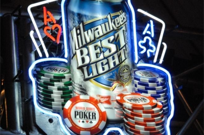 WSOP Mantém Milwaukee's Best Light Como Cerveja Oficial do Evento 0001