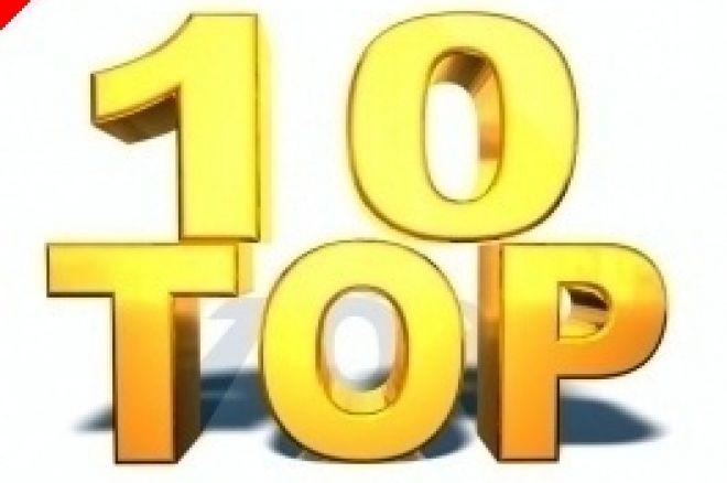 Die PokerNews Top 10: Die Top 10 Poker Geschwister 0001