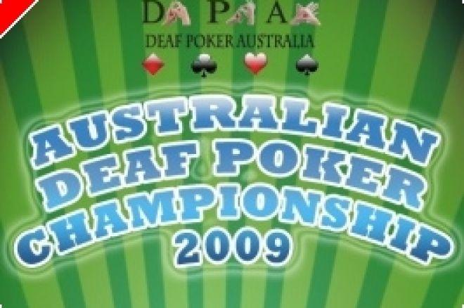 Deaf Poker Australia spouští letní turnajový set 0001