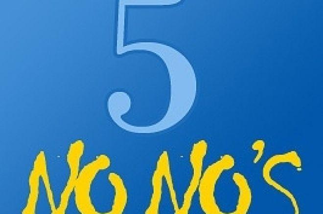 5 Συμβουλες για τα τουρνουά Πόκερ 0001
