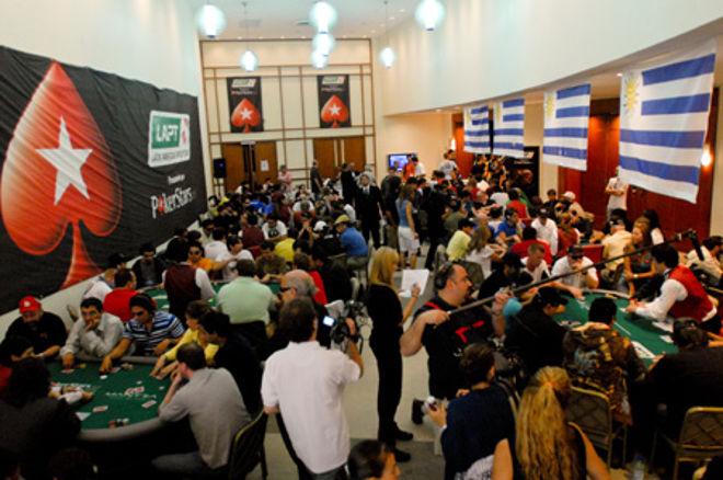 Pokerstars LAPT Punta del Este 2009 - Día 1: Rowe liderando 0001