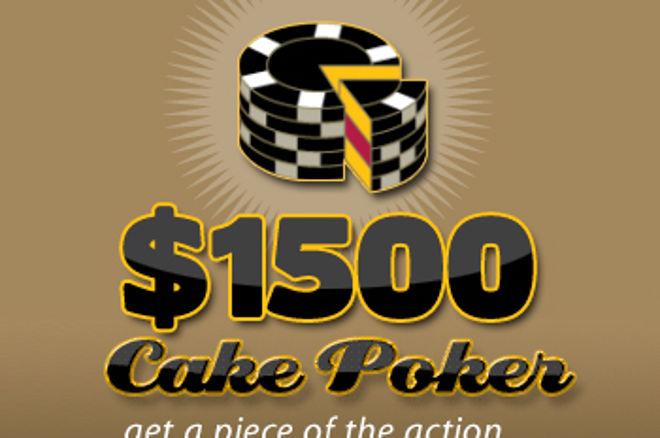 Cake Poker presenterar $1500 freeroll 0001