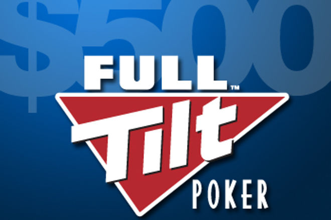 Full Tilt Poker presenterar en $500 freerollserie under mars och april 0001