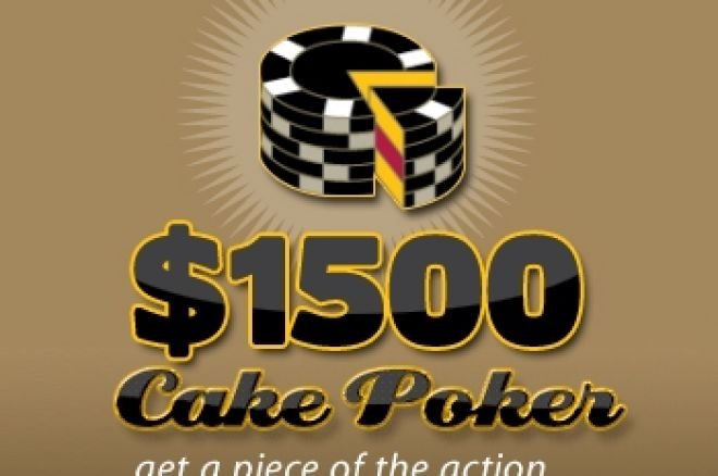 $1,500 PokerNews Cash Freerolls na Cake Poker 0001
