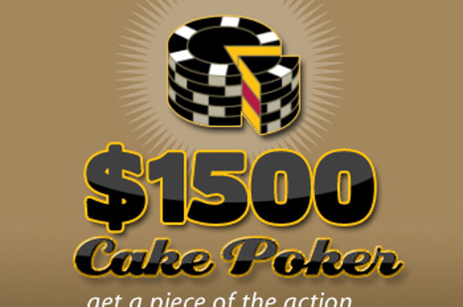 Cake Poker's $1,500 PokerNews Cash Freeroller 0001