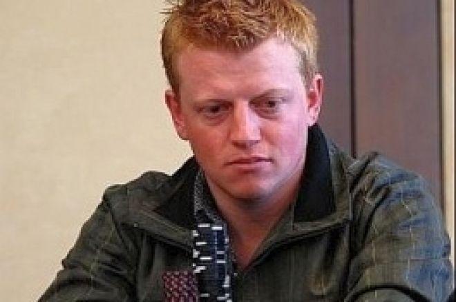 Danske Simon Borg ved finalen ved PNC, Mark Vos i front 0001