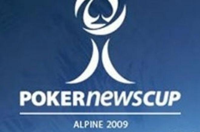 Дебют Angel Playing Cards на PokerNews Cup Alpine 2009 0001