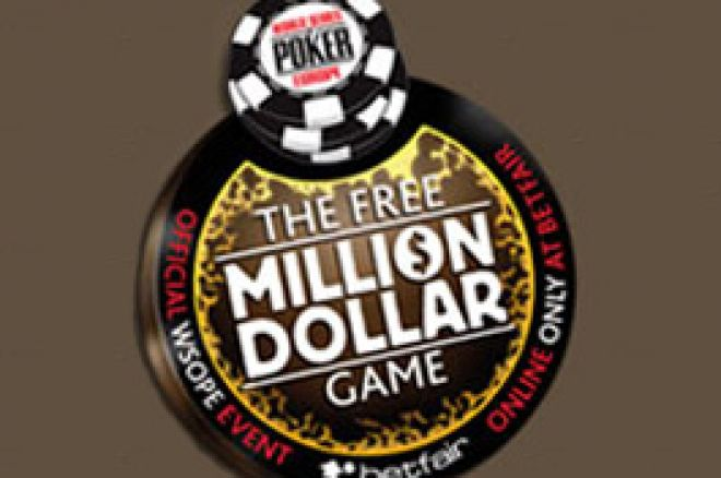 Representa a Tua Região no 'The Free Million Dollar Game' da Betfair Poker 0001