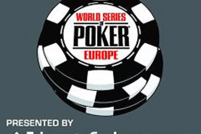 Spelschemat för 2009 års World Series of Poker Europa presenterat 0001