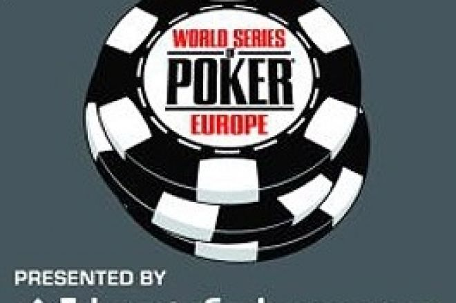 Spilleskjema for World Series of Poker Europa 2009 er klart 0001