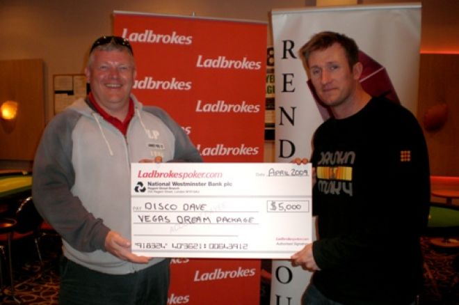 David Welch wins Ladbrokes Easter Festival, Irish Open Side Event Results + more 0001
