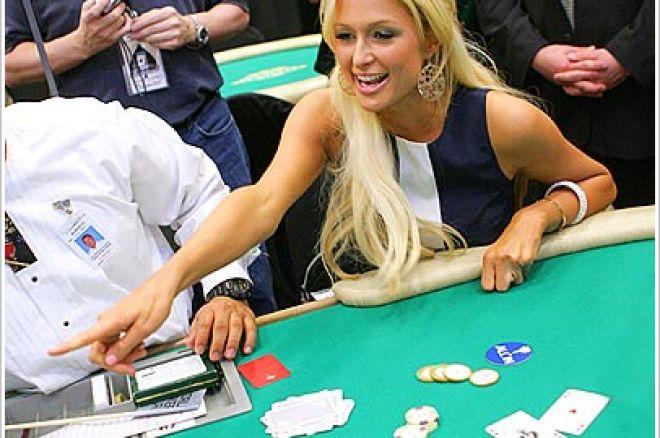 Será que Paris Hilton está viciada no poker? 0001