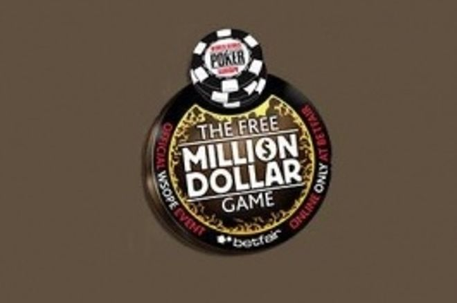 En spiller vil vinne $1 million gratis fra Betfair Poker under WSOPE 0001