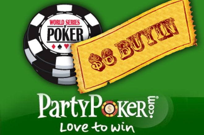 WSOP ralli algab: anname oma mängijatele Party pokkeritoas kolm paketti põhiturniirile! 0001