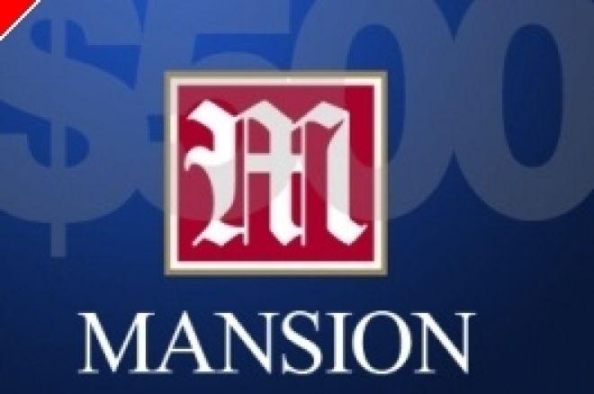Mansion Poker propone un Freeroll especial con premio de 500$ en efectivo 0001