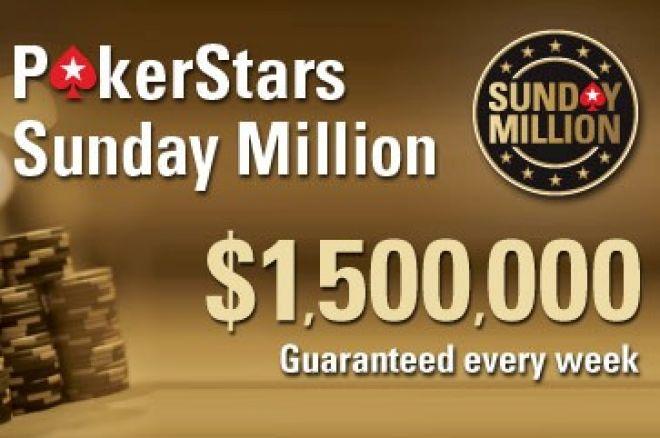"""Svenske """"antesvante"""" vinner PokerStars Sunday Millions 0001"""