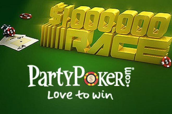 Million Dollar Race e Monthly Million na Party Poker 0001