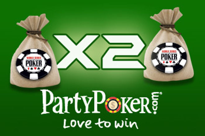 Party Poker Double WSOP* Package Freeroll! This one isn't to be Missed, Best Value Anywhere. 0001