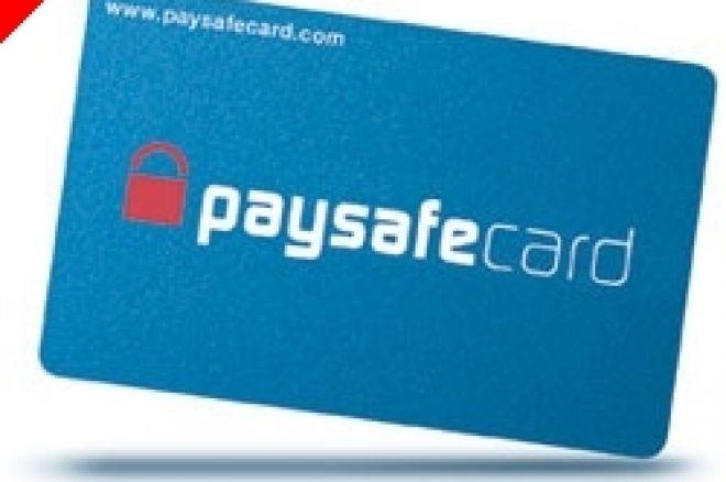 Passatempo: paysafecard - PT.PokerNews. Oferecemos €60 Por Semana! 0001