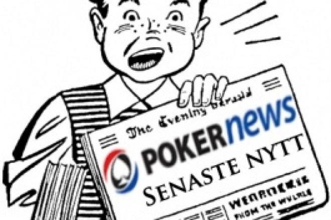 Senaste nytt - Idag startar Poker-SM och helgen såg Unibet Open och Freerdom Poker 0001